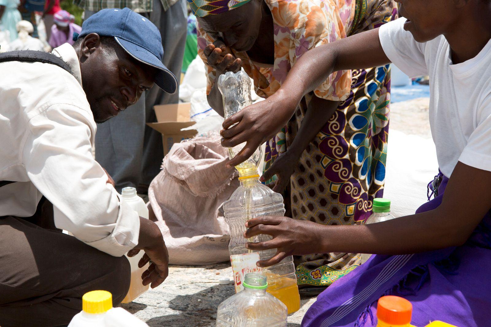 Zimbabwe Drought Hunger Elderly