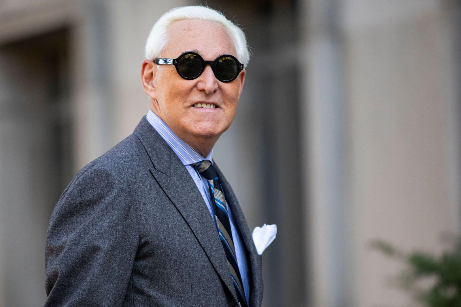Trump commutes sentence of former advisor Roger Stone, Washington, USA - 13 Nov 2019