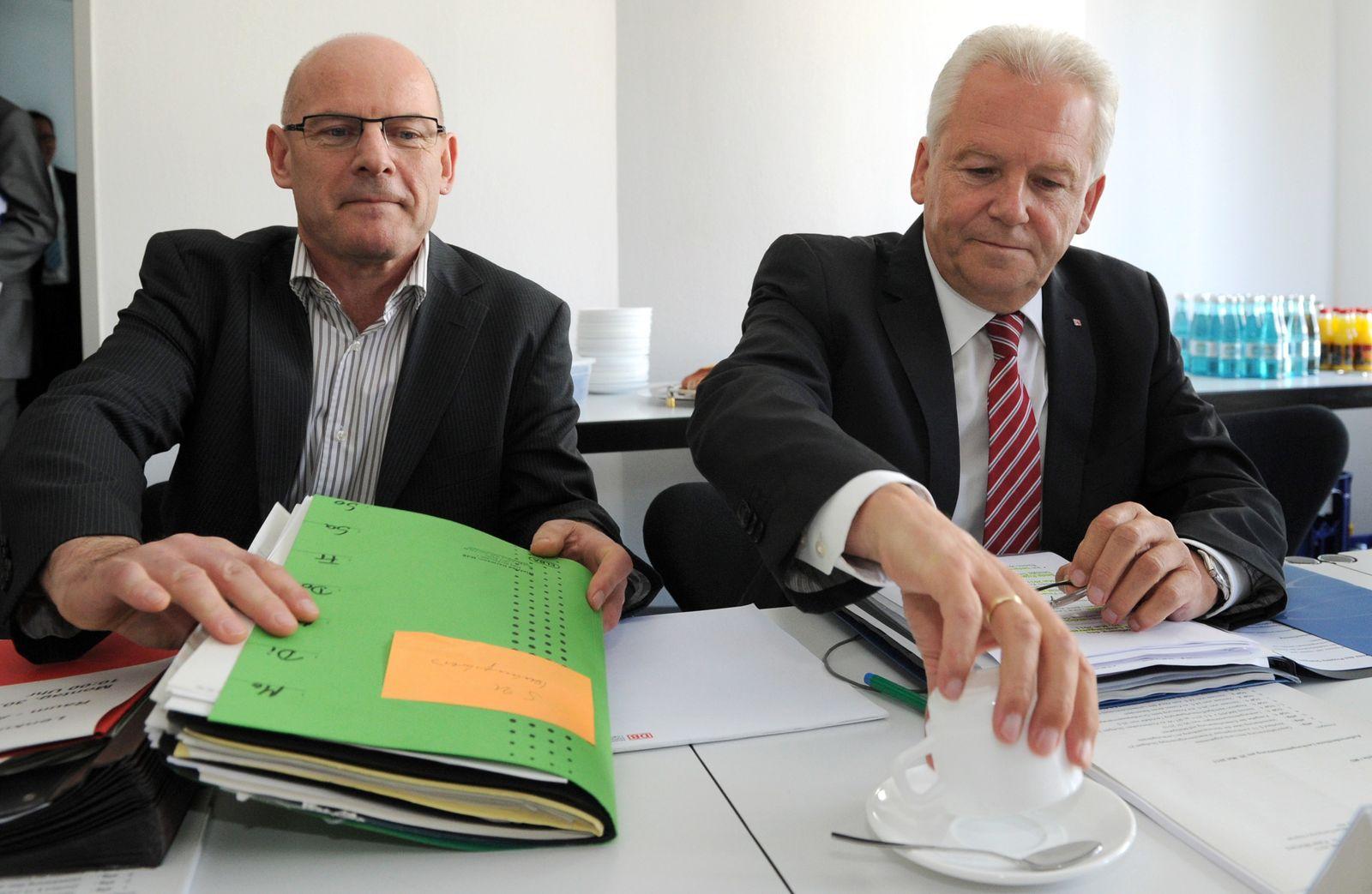 Stuttgart 21/ Winfried Hermann/ Rüdiger Grube
