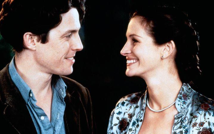Hugh Grant und Julia Roberts in »Notting Hill«: Doch bitte geliebt werden