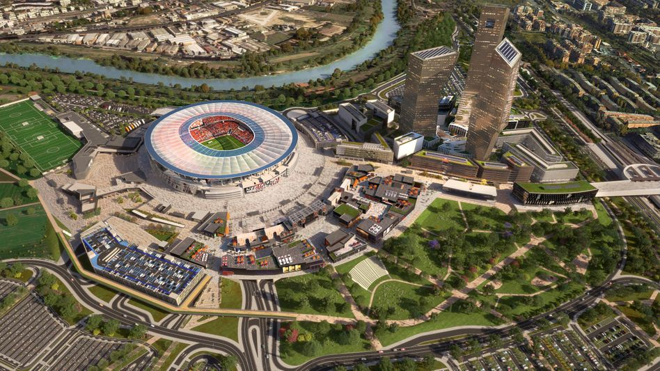Pallottas Großprojekt: das Stadio della Roma