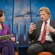 Moderatorin Illner, Talk-Gast Kahn: Ein Hauch von Steckrübenwinter