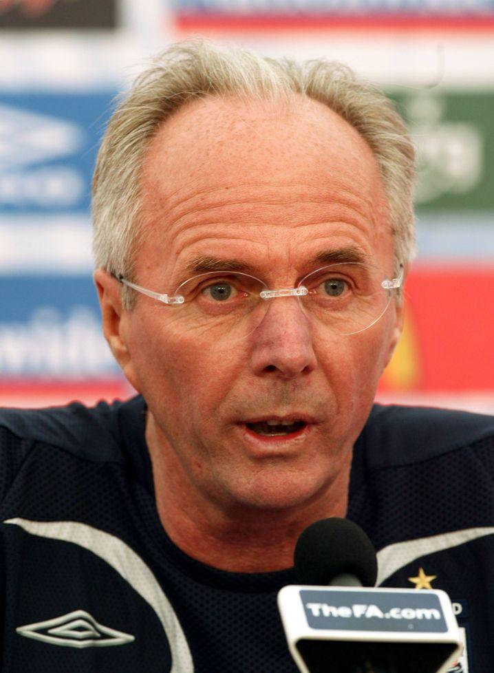 Ex-England-Coach Eriksson: Neuanfang bei englischem Viertligisten