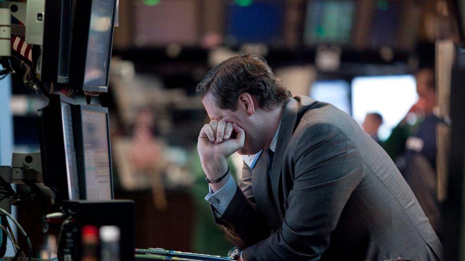 """Börsenhändler in New York: Waren wieder """"Fat Finger"""" im Spiel?"""