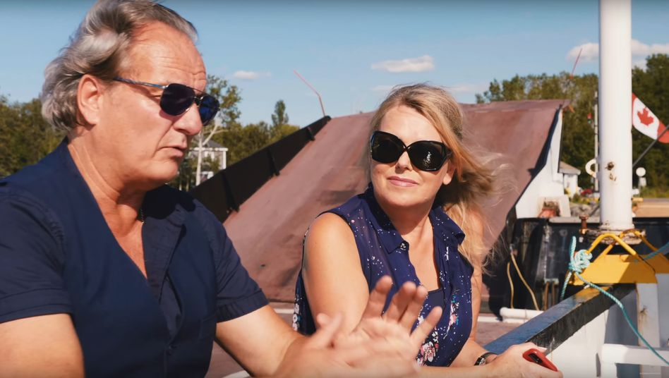 Eva Herman mit Andreas Popp