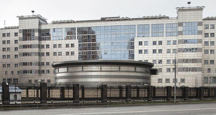 GRU-Gebäude in Moskau