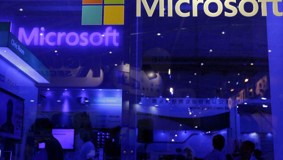 Microsoft: Der Konzern verdient gut mit Großaufträgen für Software-Pakete