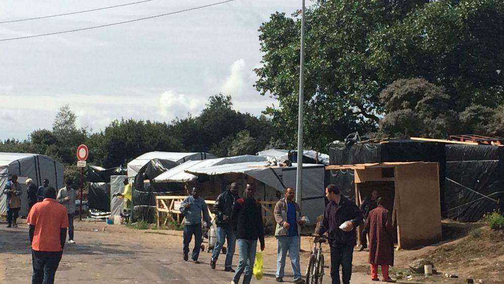 """Flüchtlinge in Calais: Willkommen im """"Dschungel"""""""