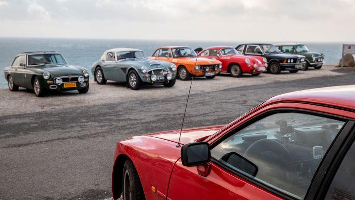 Oldtimer-Rallye Le Jog: Durch Matsch und Modder