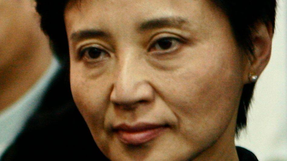 Prozess in China: Politiker-Gattin droht Todesstrafe