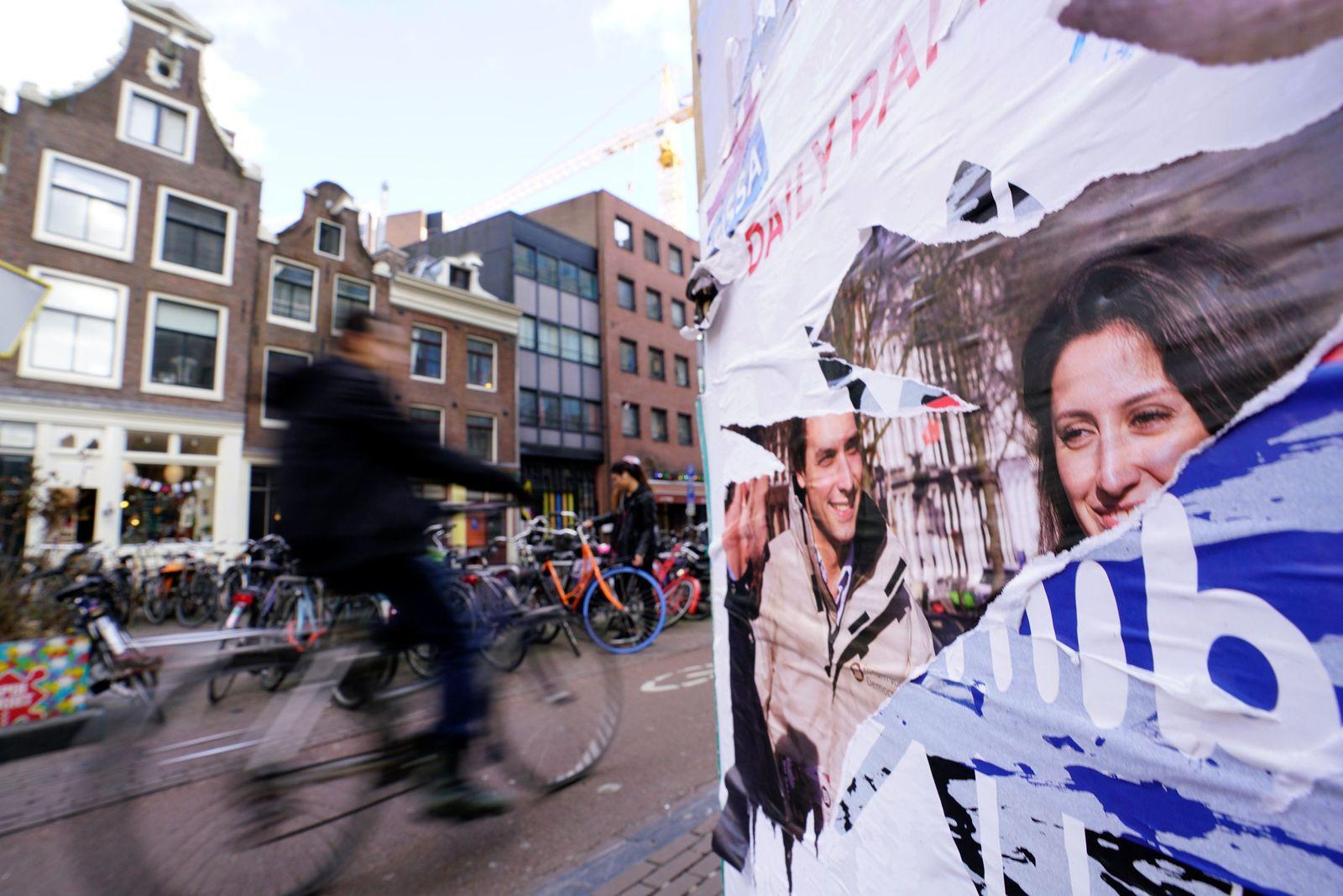 holland niederlande poster wahl