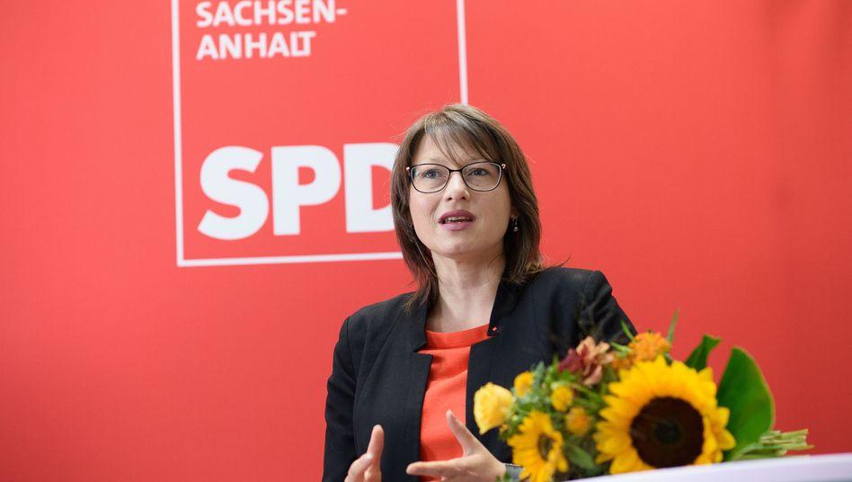 """Sachsen-Anhalts SPD-Spitzenkandidatin Katja Pähle: """"Wir sind in der Kenia-Koalition das Korrektiv"""""""