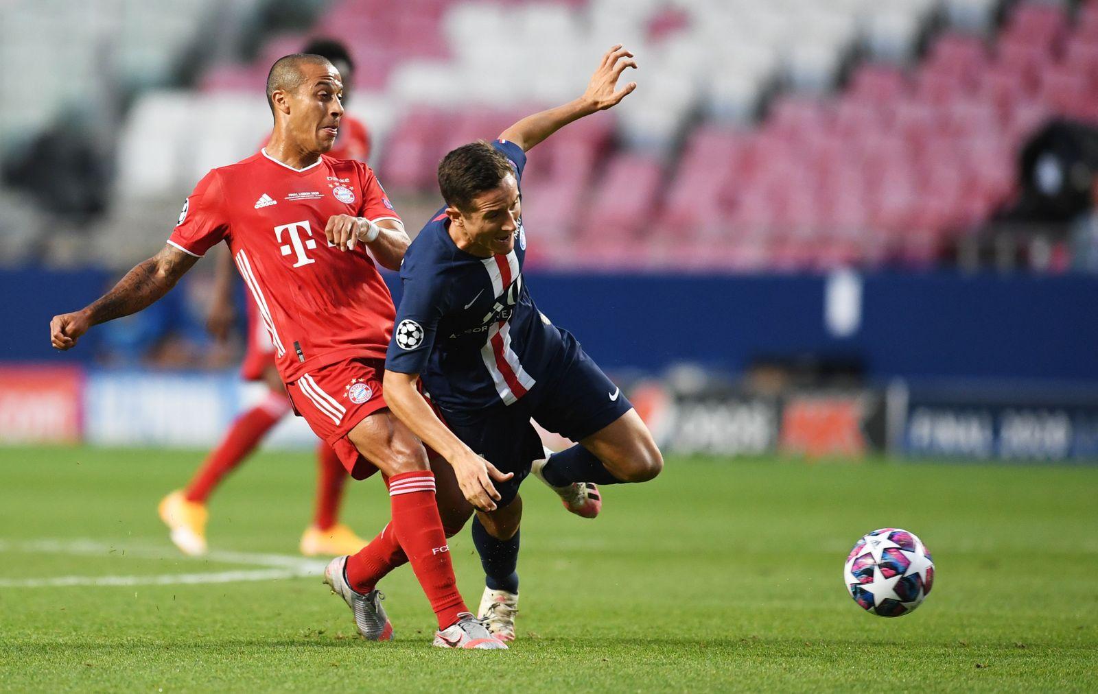 PSG vs Bayern Munich, Lisbon, Portugal - 23 Aug 2020