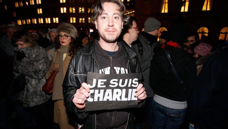 """Trauer in Paris: """"Ich bin Charlie"""""""