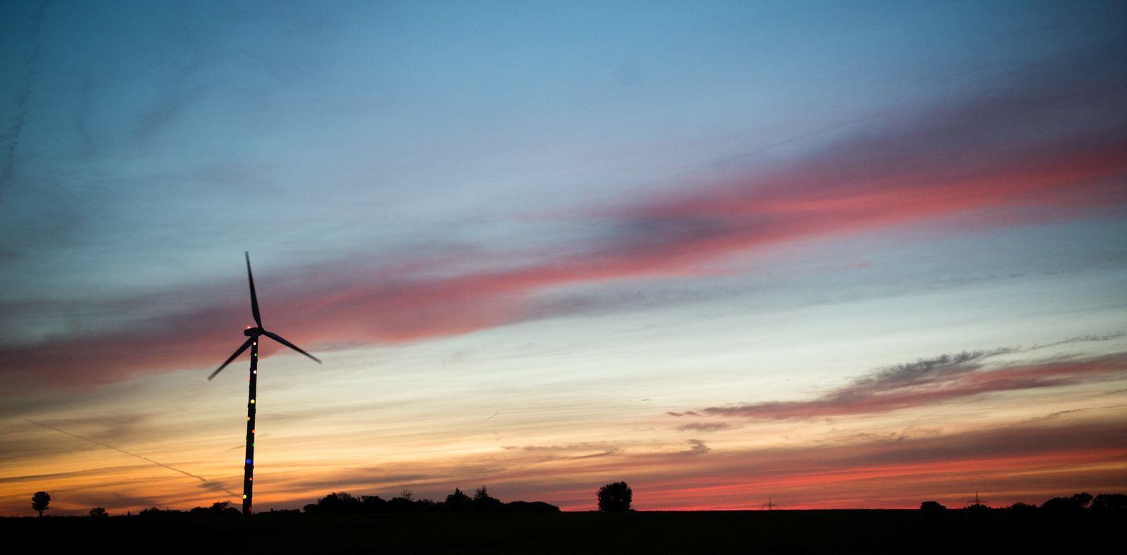 Sonnenaufgang in Niedersachsen