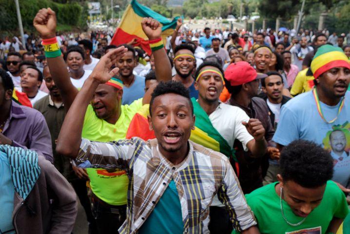 Junge Äthiopier setzen ihre Hoffnungen in Abiy