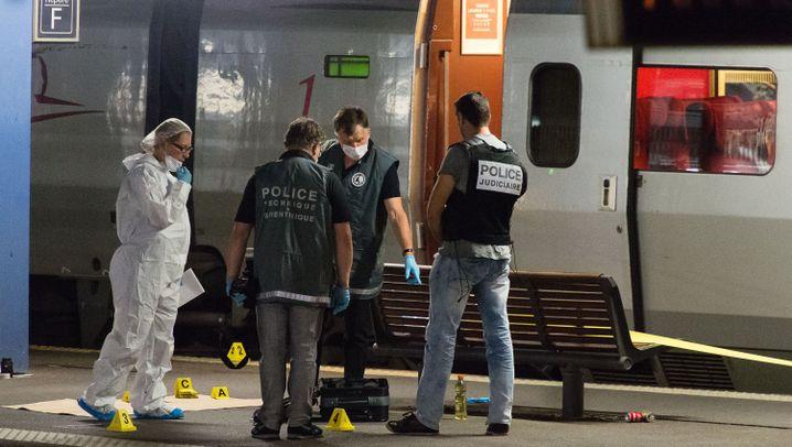 Schüsse im Thalys: Handybilder aus dem Zug