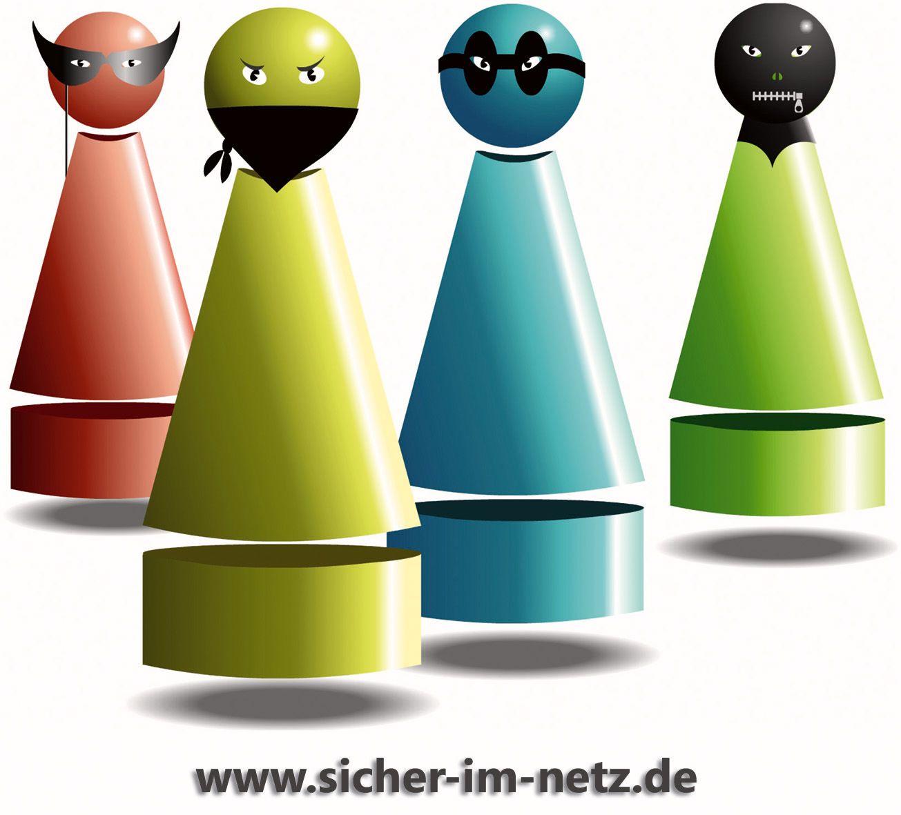 SYMBOLBILD Gruppe / Viren