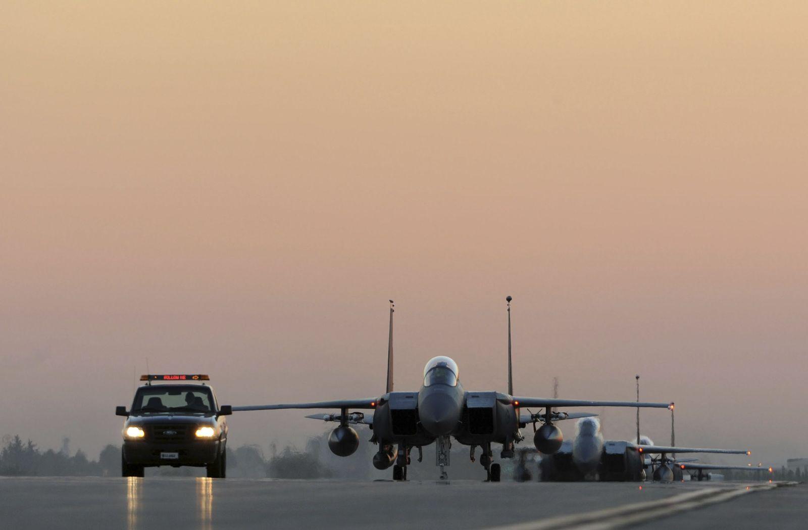 Türkei/ US-Kampfflugzeuge