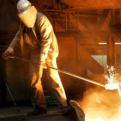 Stahlproduktion bei ThyssenKrupp: Bestes Geschäftsjahr in der Konzerngeschichte
