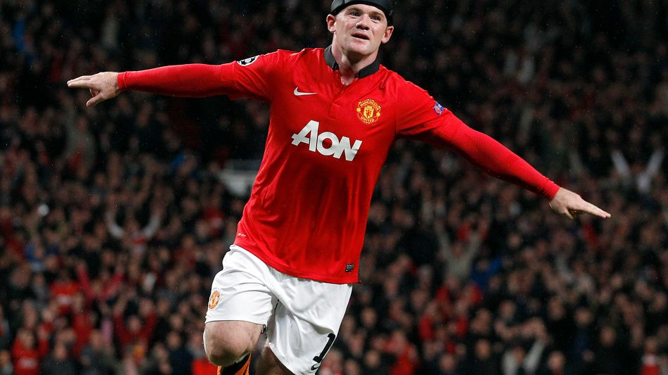 ManUnited-Stürmer Rooney: Neuer Umsatzrekord