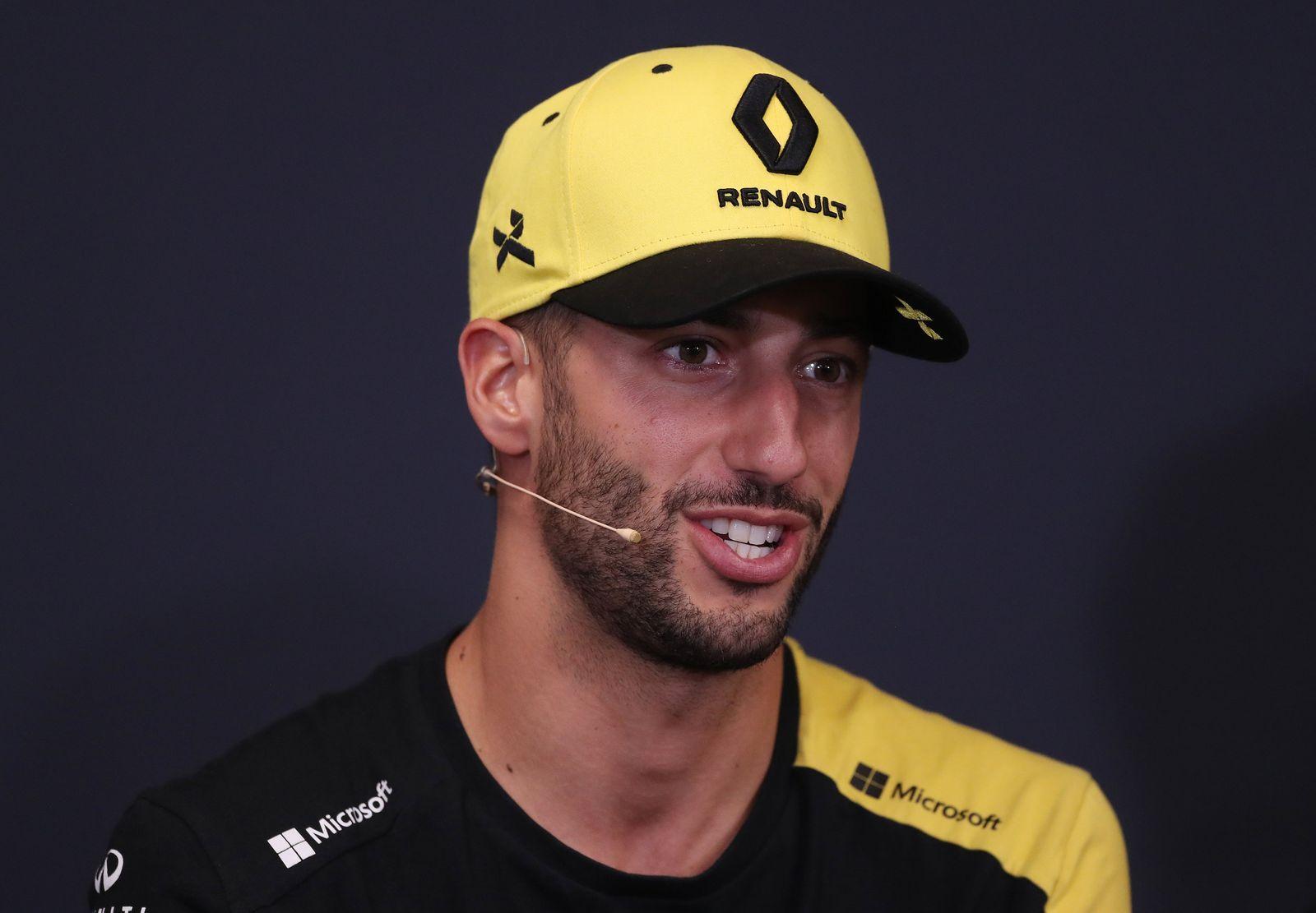 Daniel Ricciardo file photo
