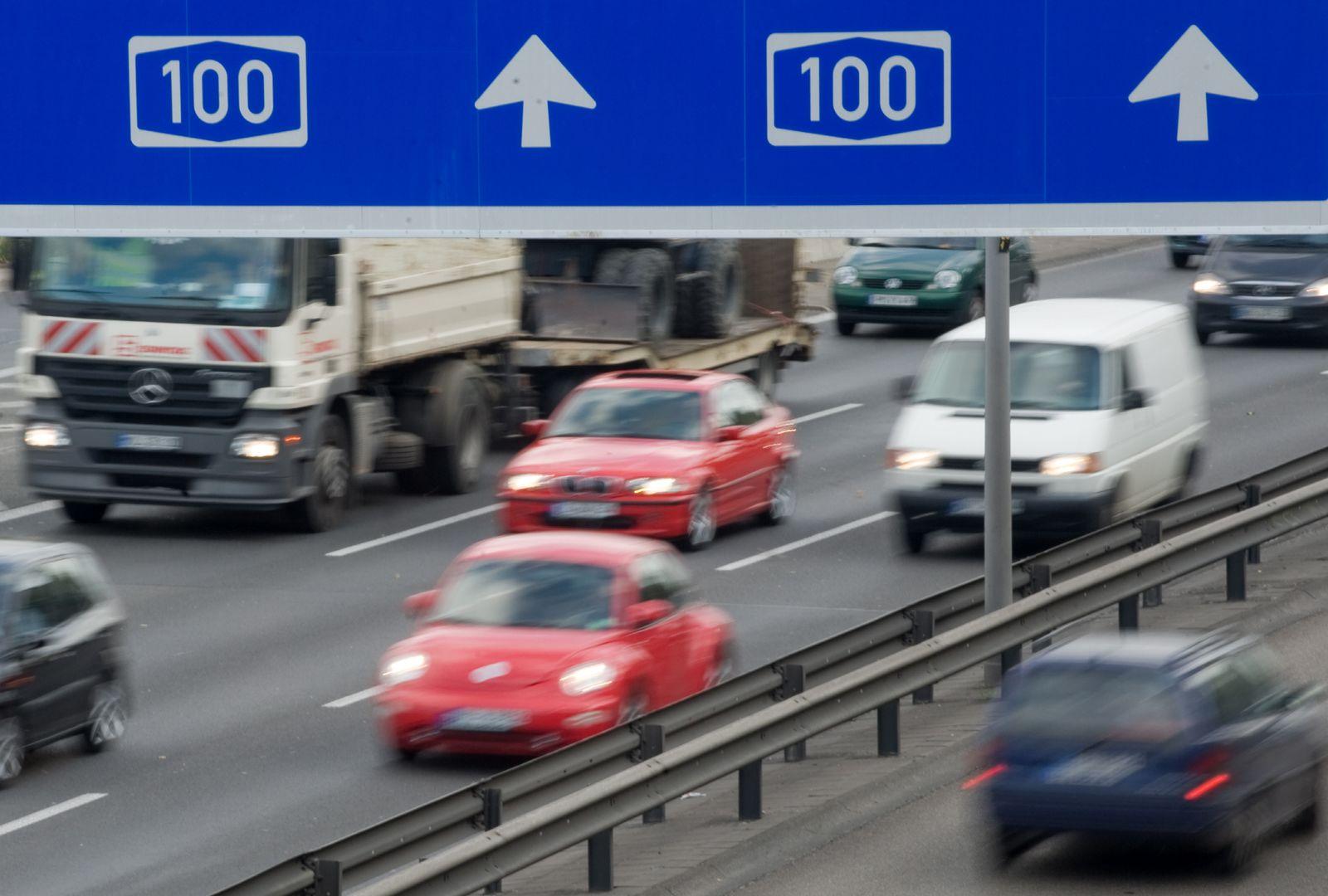 NICHT VERWENDEN A100 berliner Stadtautobahn