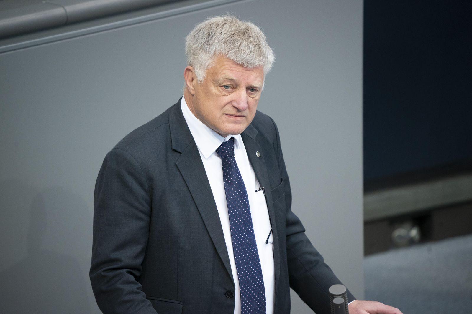 Deutscher Bundestag Plenum und Debatte der 163. Sitzung in Berlin