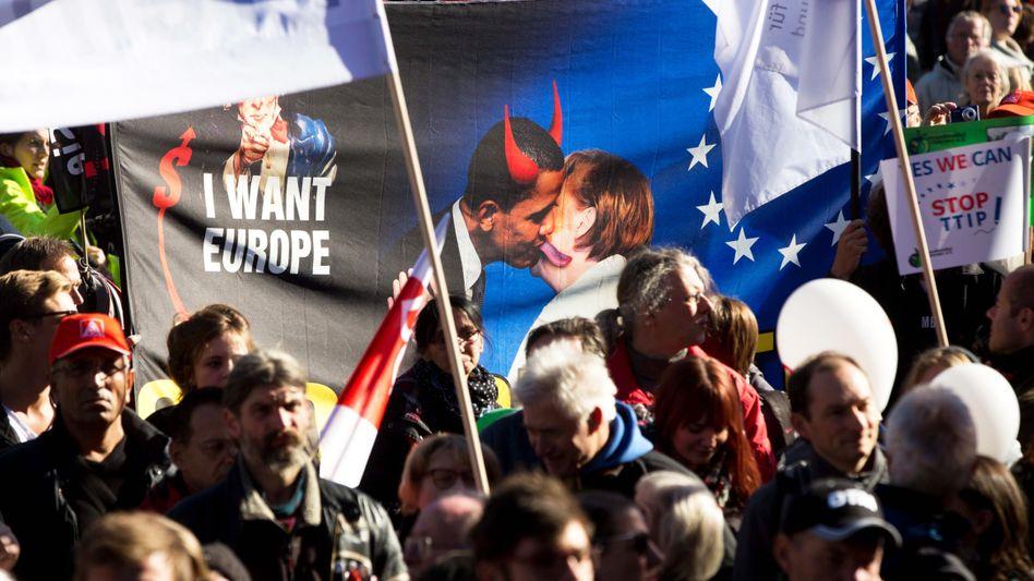 Anti-TTIP-Demo