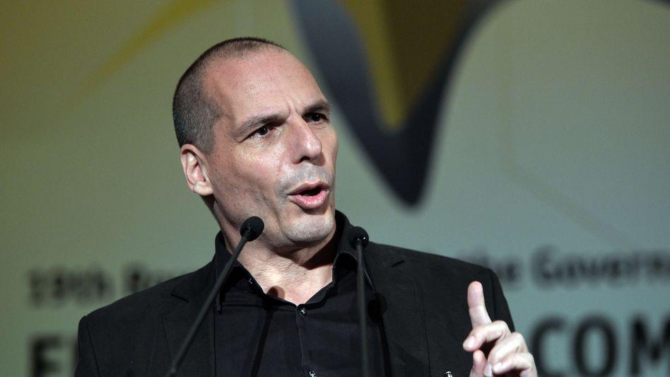 """Der griechische Finanzminister Gianis Varoufakis: """"Nun hängt alles an dem außerordentlichen EU Gipfel"""""""