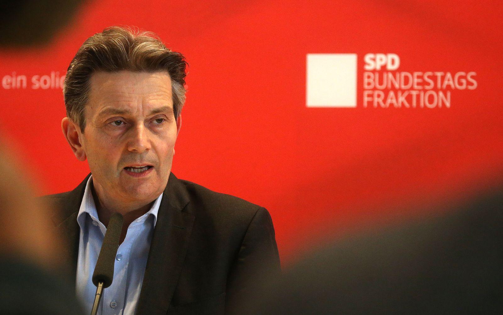 Mützenich Sitzung der Bundestagsfraktion der SPD