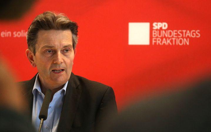 """SPD-Fraktionschef Rolf Mützenich: """"Die Grünen handeln neoliberal"""""""