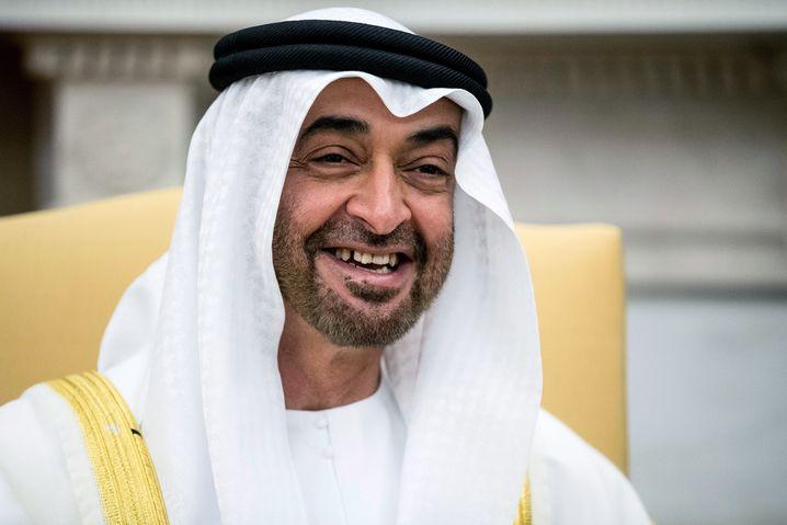Wenn er lacht, lachen alle mit in den Emiraten: Mohammed bin Zayed