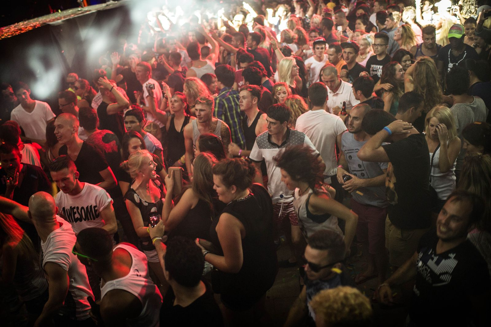 European Tourists Flock To Ibiza For Their Summer Holidays