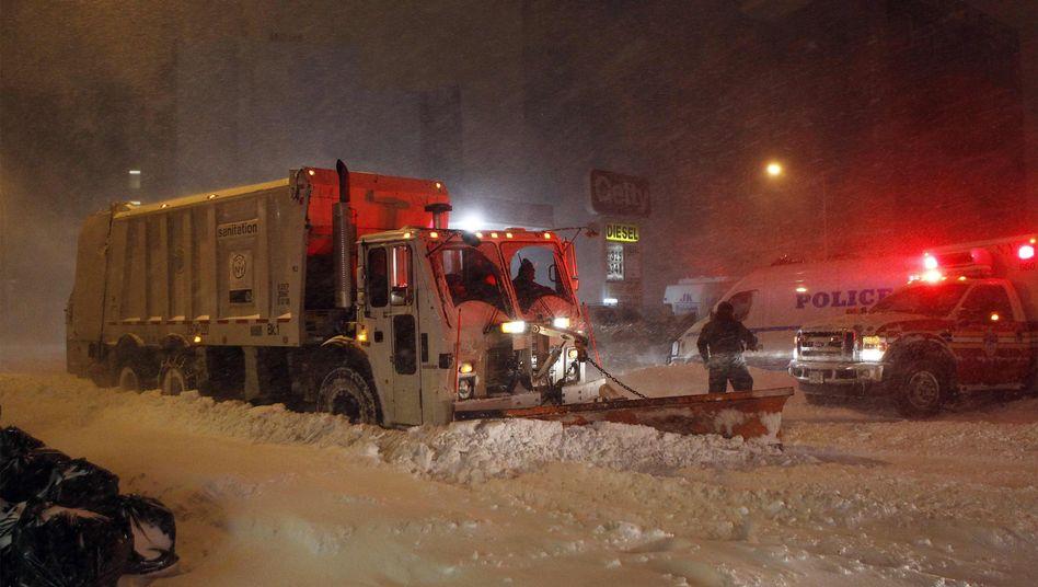 Wintersturm: Blizzard legt Flughäfen an US-Ostküste lahm