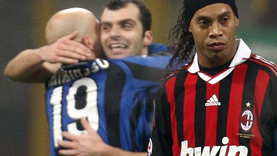Milan-Star Ronaldinho nach Niederlage gegen Inter: Zu viel gefeiert?