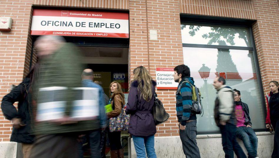 Arbeitslose in Spanien (Symbolbild)