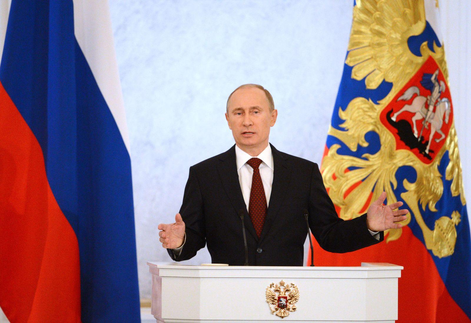 Putin / Rede Lage der Nation