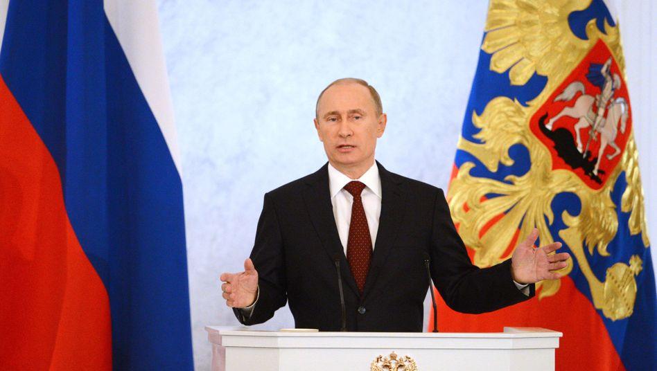 """Russlands Präsident Putin: """"Moralische und geistige Grundlagen der Gesellschaft stärken"""""""