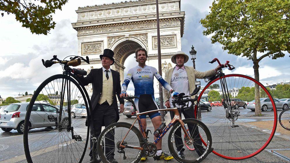 Brite: 29.000 Kilometer per Rad um die Welt
