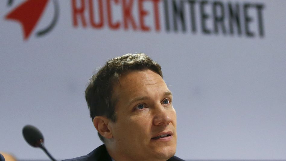 Rocket-Internet-Chef Oliver Samwer im Juni 2015