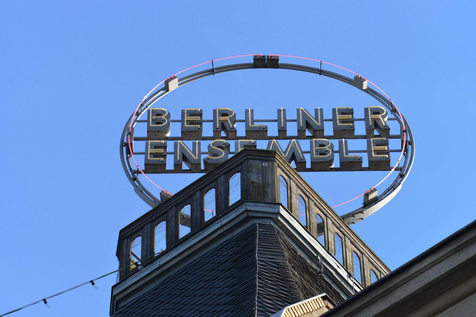 EINMALIGE VERWENDUNG Berliner Ensemble