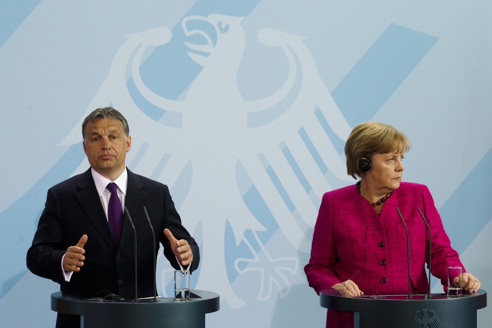 Merkel / Orban