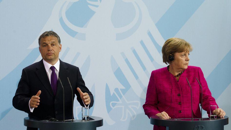 Premier Orbán, Kanzlerin Merkel: Wie angespannt ist das Verhältnis Berlin-Budapest?