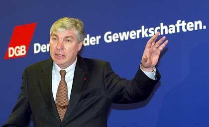 DGB-Chef Sommer: Neuerdings zur Diskussion bereit