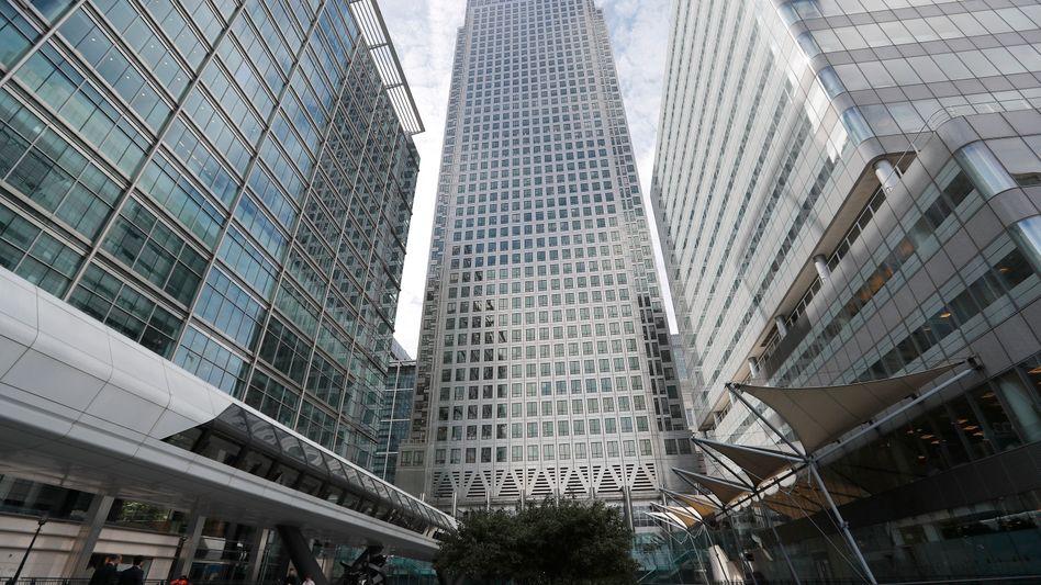 Der Sitz der Europäischen Bankenaufsichtsbehörde in London (Archivbild)