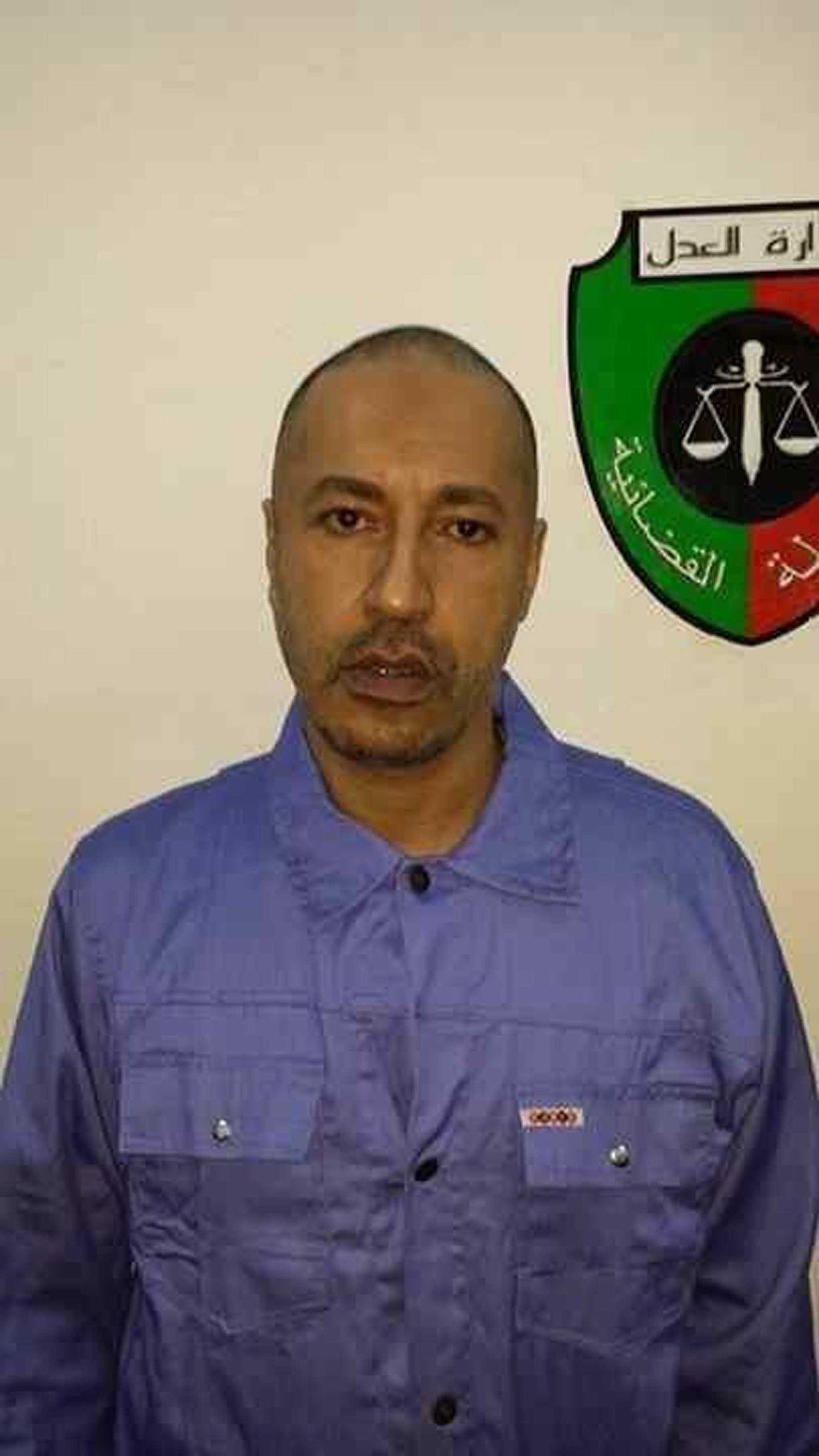 Gaddafi/ Gefängnis