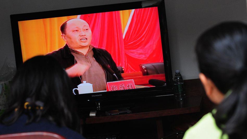 TV-Aufnahme von ZhengYanxiong (Archiv)