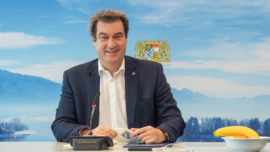 Markus Söder zieht eine Änderung der Priorisierung beim Impfstoff von AstraZeneca in Betracht