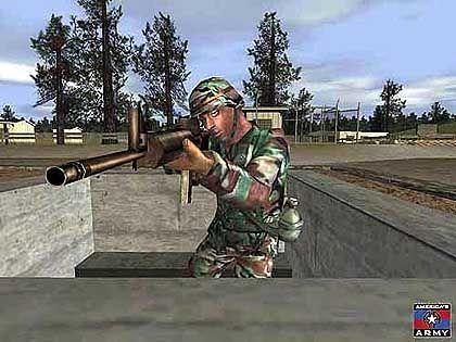 Americas Army: Spielt man das Rekrutierungsspiel im Netzwerk, sieht man sich selbst immer als GI